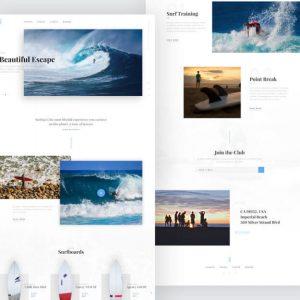 Крутой дизайн сайта: пример