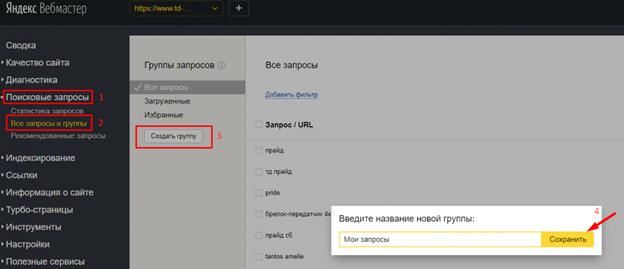 Пример проверки с помощью Яндекс.Вебмастер