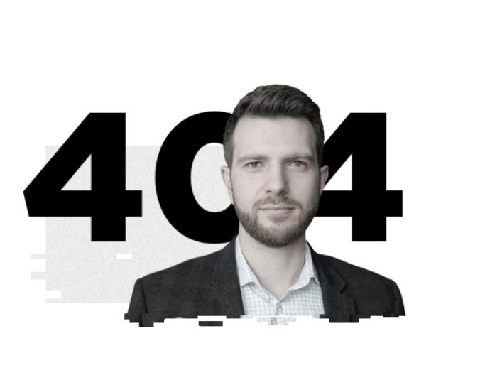 Пример 404 ошибки на сайте